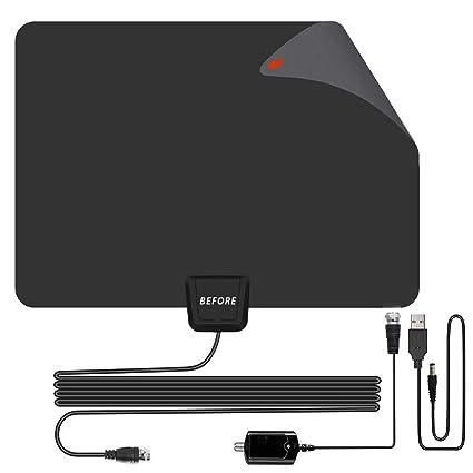 Amazon com: BEFORE TV Antenna,Amplified Indoor HDTV Antenna