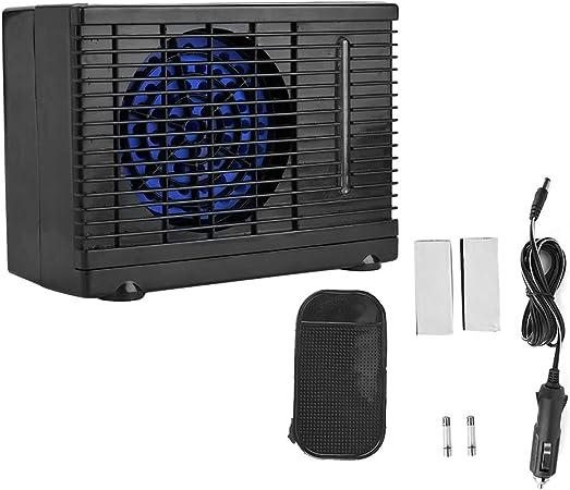 Qii lu Ventilador portátil de aire acondicionado de 12V, enfriador ...