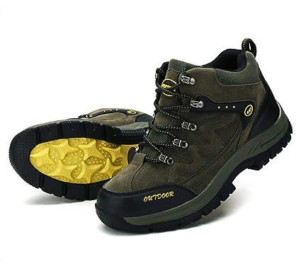 89cb30155b0d9 Amazon.com: FGSJEJ Men's Walking Hiking Shoes Outdoor Breathable ...