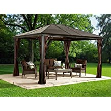 6mm Polycarbonate Roof Gazebo Sojag Sumatra - 10x12