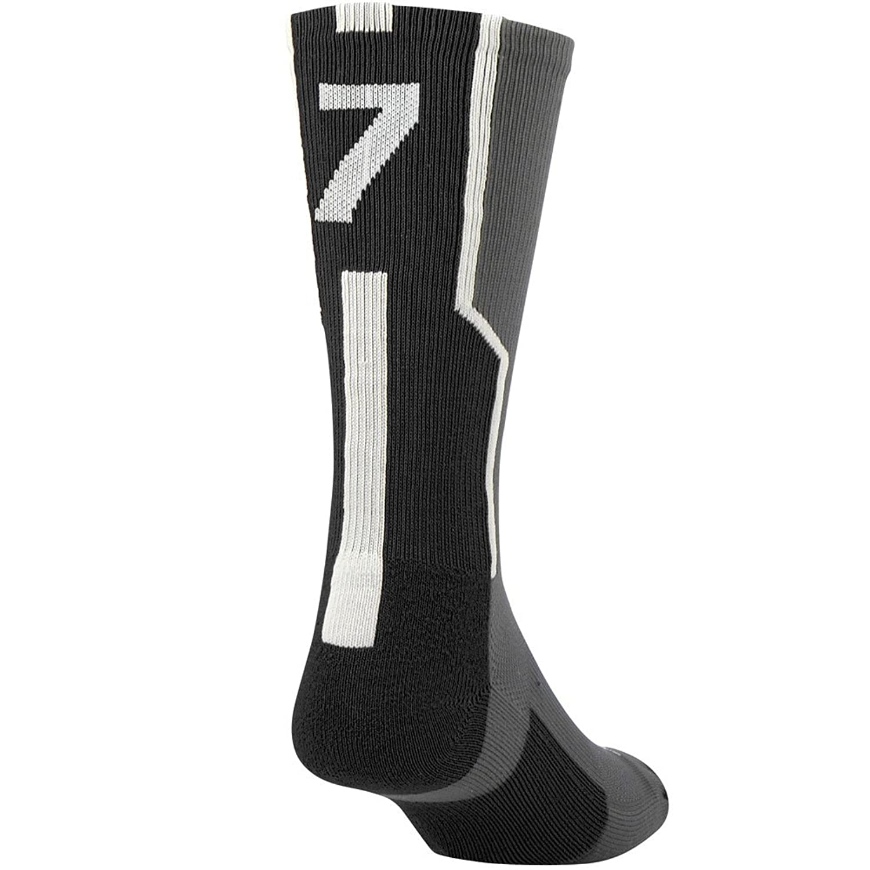 Twin City Player ID Single Crew Sock 7 B00EHIMI10ブラック M
