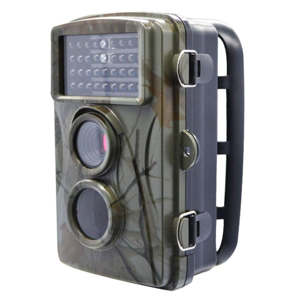狩猟用カメラ、1080 PフルHDトレイルカメラナイトビジョン付き赤外線野生生物カメラ、IP 66野生生物モニタリング用防水ゲームカム   B07RXVD5BN