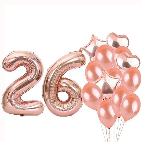 Amazon.com: Sweet 26th cumpleaños decoraciones suministros ...