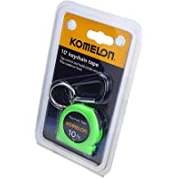 Keychain Tape Measure Acrylic Coated Steel Blade 10 pound by 1/4 inch, Green, Product Dimensions: 6.75 x 4.25 x 0.75 inches
