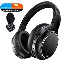 Bluetooth Over Ear Kopfhörer Noise Cancelling Wireless HiFi Bass Stereo 50 Std.Laufzeit Headset für Telefon PC TV Tablets Chaobai