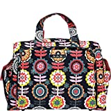Ju-Ju-Be Classic Collection Be Prepared Diaper Bag, Dancing Dahlias