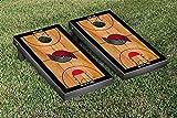 Portland Blazers Trailblazers NBA Basketball Regulation Cornhole Game Set Basketball Court Version