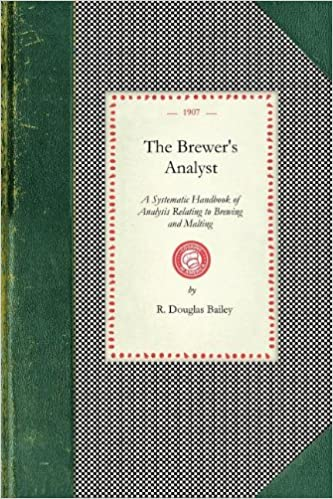 Book The Brewer's Analyst (Cooking in America)