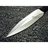 """1PC 9.5"""" High Quality 4.22mm Thick Ninja Tactical Combat Outdoor Throwing Knife"""