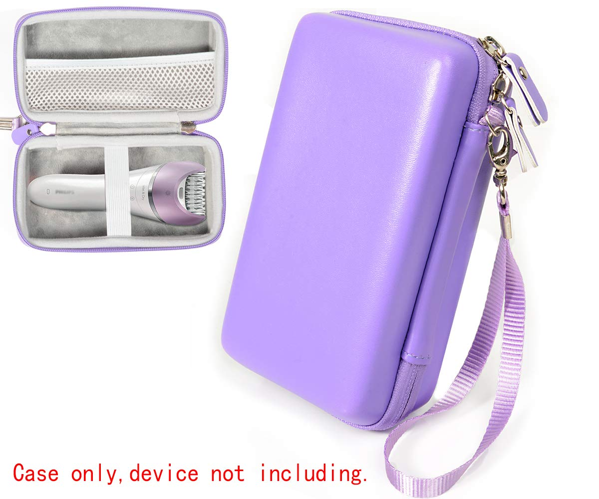 Women's Epilator Case for Philips Satinelle Advanced Wet & dry Epilator, Prestige Bre650, DEESS Permanent hair removal, Flawless legs Women hair removal, Braun Sil-epil9 9-579