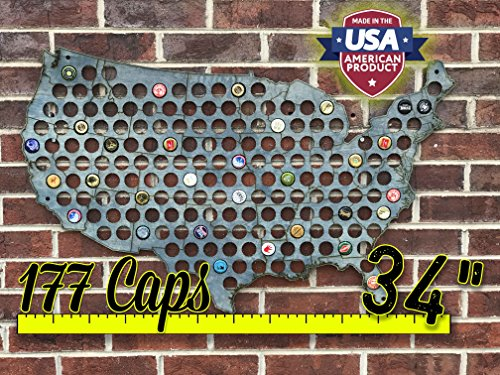 (Stained Bottle Cap Map Collector)