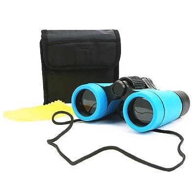 Scotamalone Kid Binoculars Shock Proof Toy Binoculars Set - Bird Watching - Educational Learning - Hunting - Hiking - Birthday Presents -Gifts for Children (color2): Toys & Games