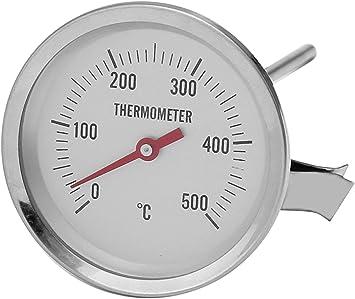 Termómetro de cocina de acero inoxidable, termómetro de grasa, freidora, termómetro de aceite, horno de pizza, sensor de carne, sonda de repuesto, termómetro de cocina, termómetro de cocina: Amazon.es: Bricolaje y herramientas