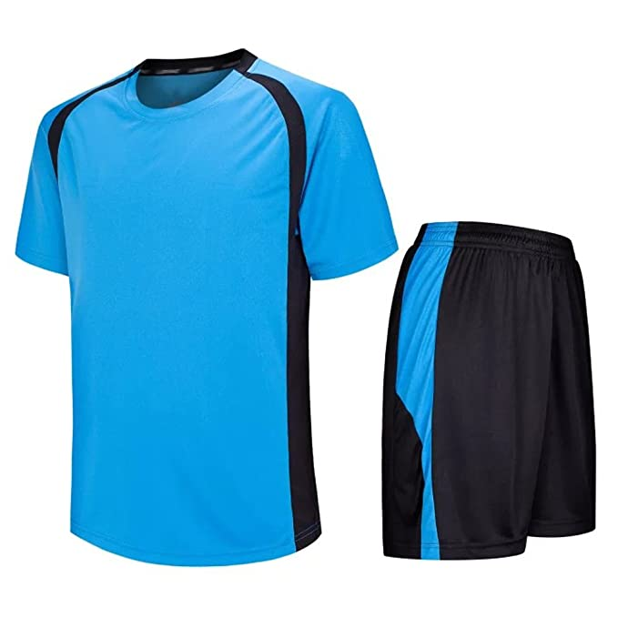 BOZEVON Hombres y niños Camiseta de fútbol, Jersey de fútbol,