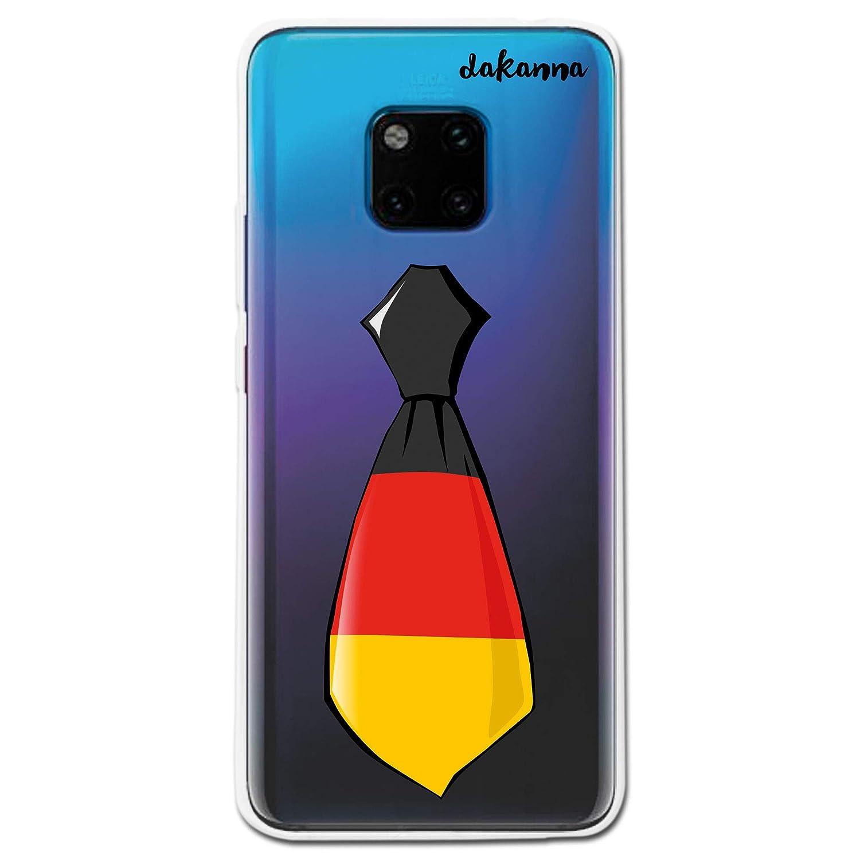 dakanna Funda para Huawei Mate 20 Pro | Corbata Bandera Alemania ...