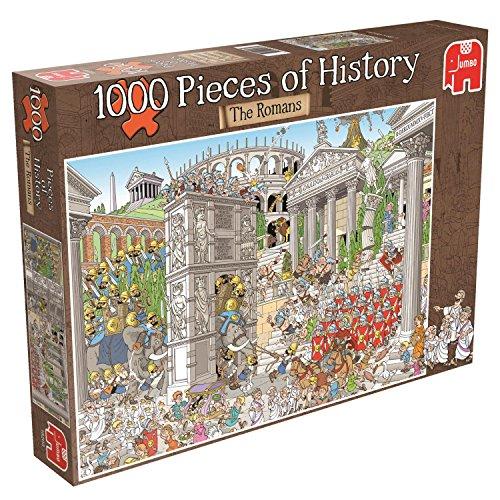 [Jumbo Pieces Of History Romans Jigsaw Puzzle (1000-piece)] (Cartoon Jigsaw Puzzles)