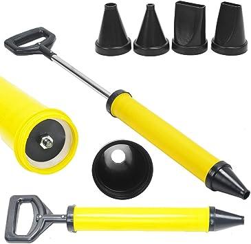 Edelstahl Fugenpistole Mörtelpresse Mörtelspritze fürMörtel,Zement-Kalk-Werkzeug