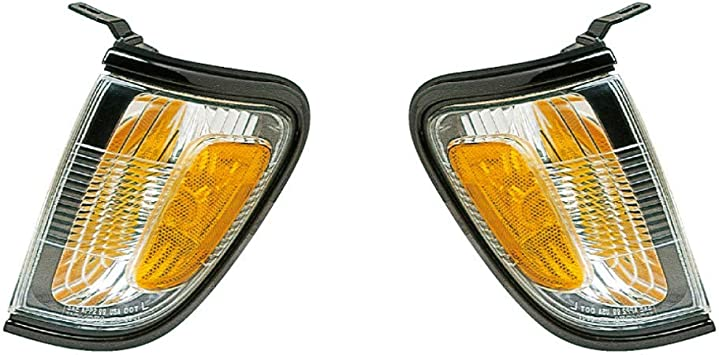 2001-2004 Replacement Corner Signal Light For Toyota Tacoma Pair w//Bulb//Socket