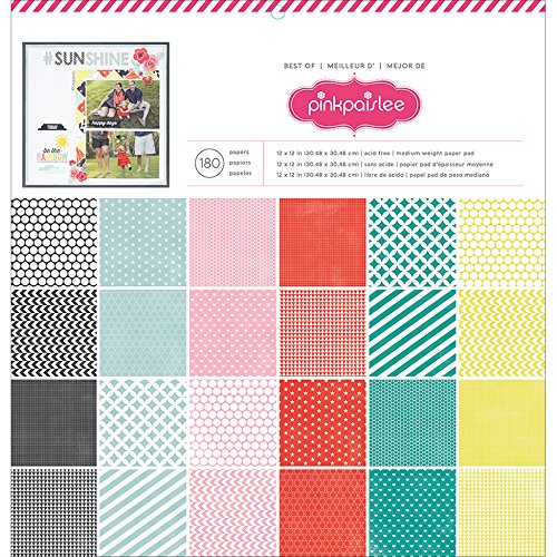 Paper Pad 12 X 12 Inches Best of Pink Paislee (6 Pack)