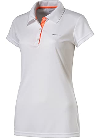 Tecno Pro Donala - Polo de Tenis para Mujer, Color Blanco, Color ...