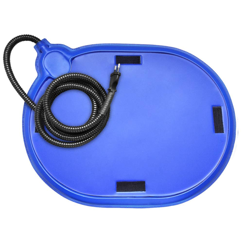 bluee 44cmx33.5CM bluee 44cmx33.5CM Gwanna Pet Electric Hot Plate, Cat Dog Rabbit Safe Heating Hard Pad Soft Pad for Pets Sleeping (color   bluee, Size   44cmx33.5CM)