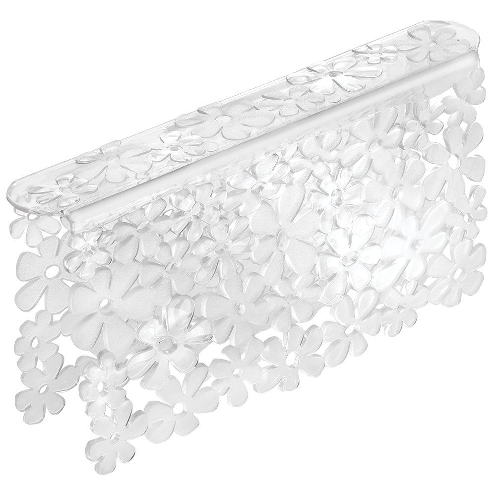 Amazon.com: InterDesign Blumz Kitchen Sink Protector And Sponge Holder    Clear: Home U0026 Kitchen