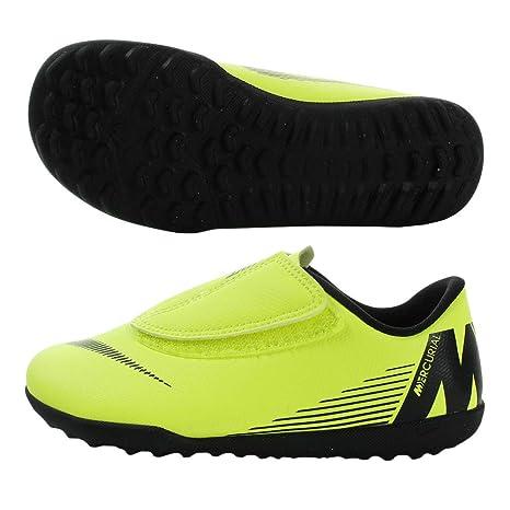 Nike - FUTBOL7 NIKE Mercurial Vapor 12 Club PS V TF Hombre Color  Amarillo  Fluor c40fbcafc3a54