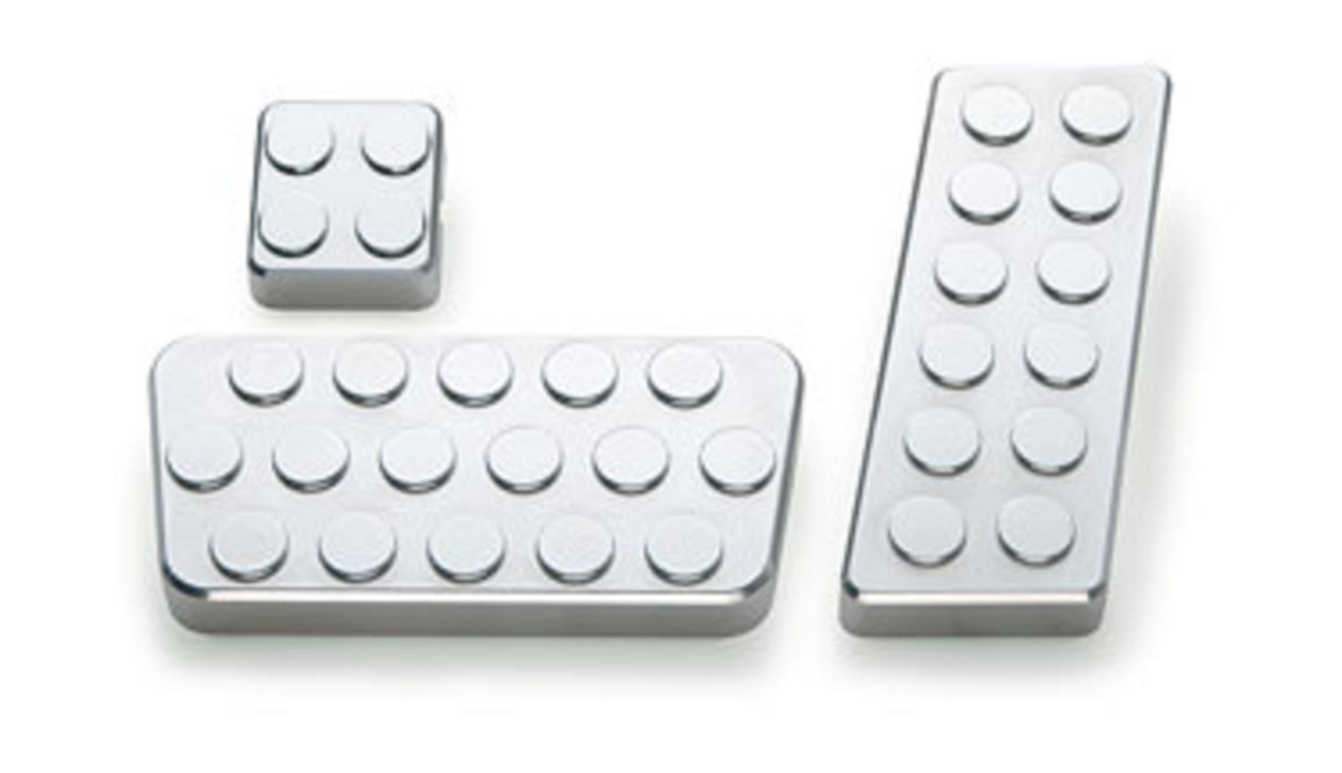 Pack of 3 All Sales 93C Pedal Pad Kit,