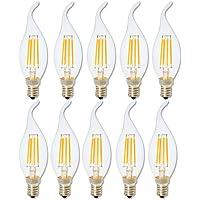 Regulable 4W LED E14 Bombilla Luz,Blanca Cálida 2700