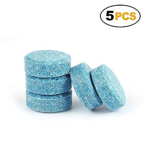 Fousamax Limpiador de espray Multifuncional Efervescente Concentrado para Coche, limpiaparabrisas de Coche, líquido de