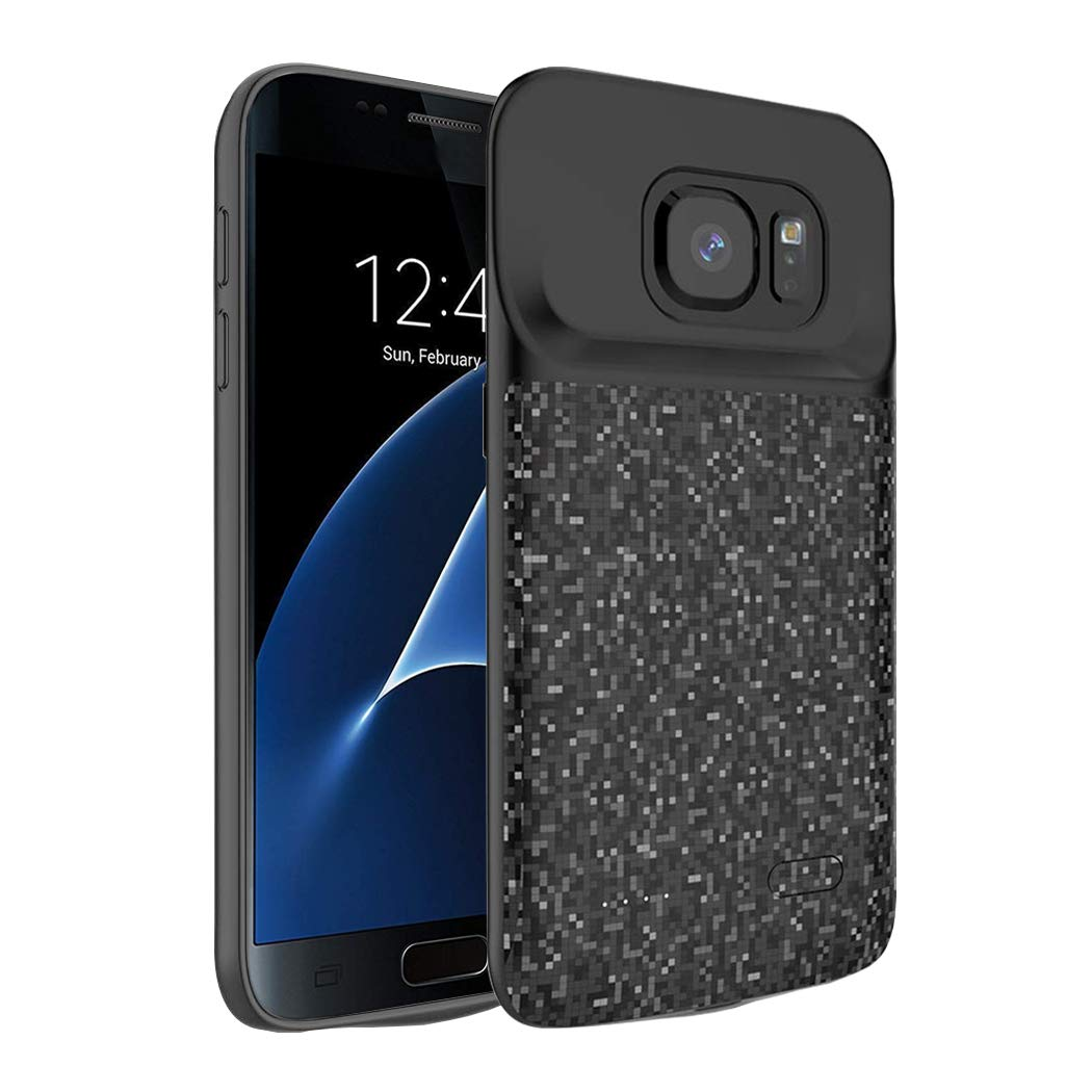 Funda Con Bateria De 4700mah Para Samsung Galaxy S7 Snsou [7jrh3dx9]