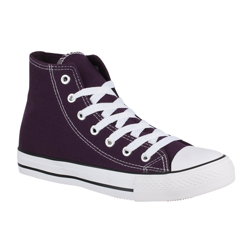 Elara B008KLJSGS Low-Top Femme Basic Purple Basic Femme (F?llt Gr??er Aus) 7d44647 - robotanarchy.space