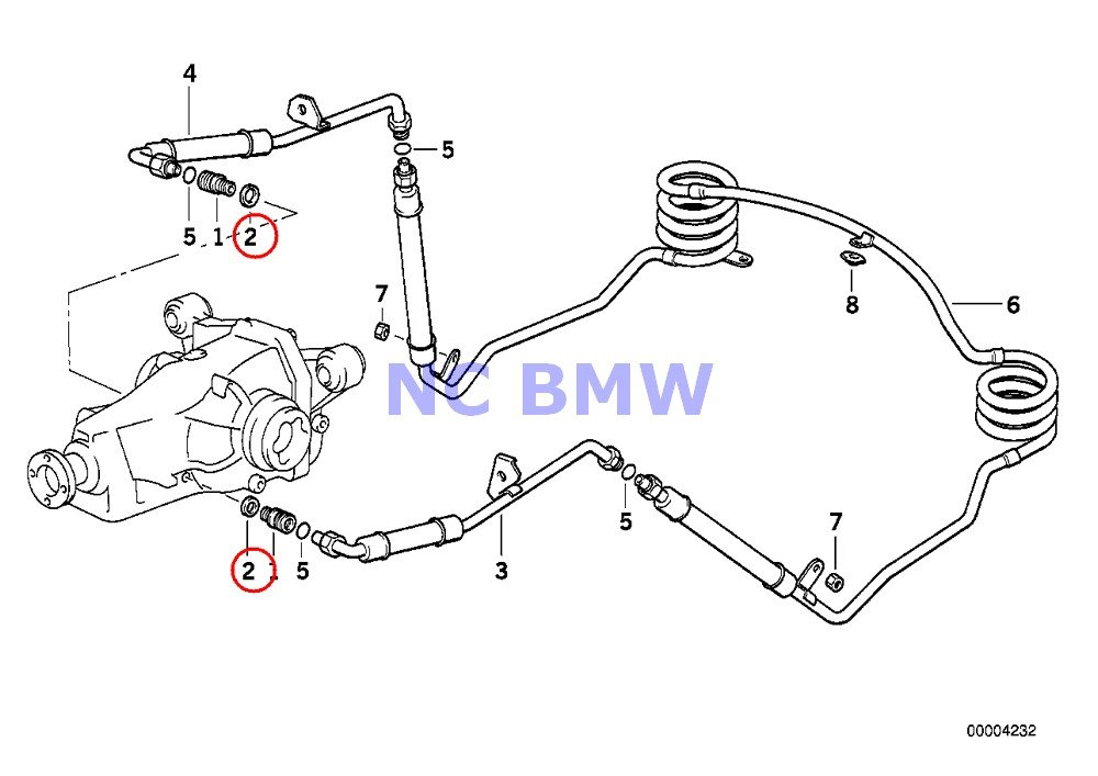 Amazon Com Bmw Genuine Motorcycle Gasket Ring A18x22 Cu R1100gs