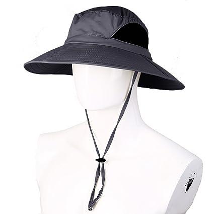 Amazon.com  Netursho Quick-Dry Sun Hat 861f390543d4