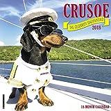 Crusoe the Celebrity Dachshund 2018 Calendar for $14.98.
