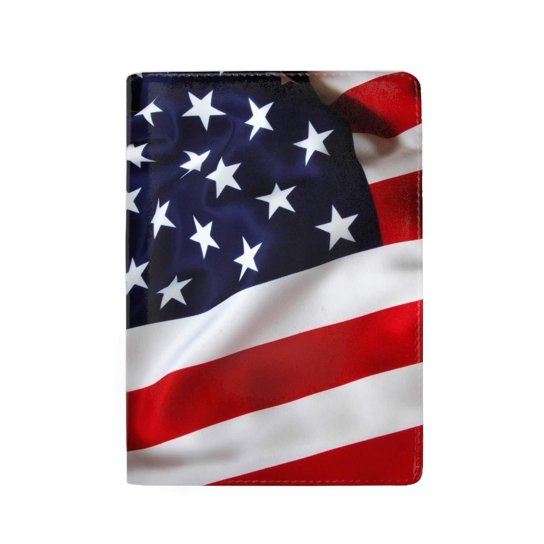 Passport Holder Cover Travel Leather RFID Blocking Case Wallet for Passport with Halloween Pumpkins