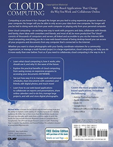 Cloud Computing Book By Michael Miller
