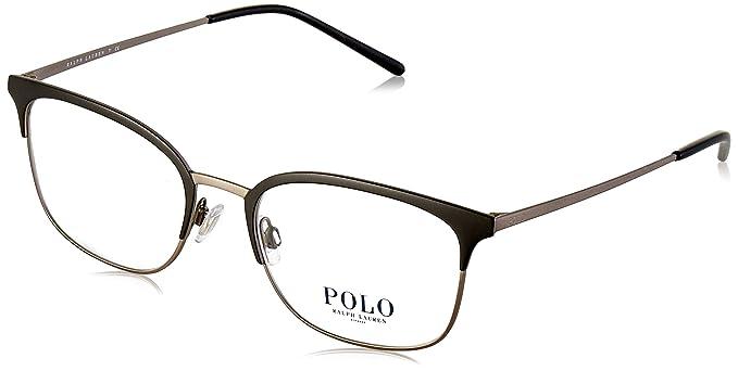 Ralph Lauren POLO 0PH1177 Monturas de gafas, Black/Matte Silver ...