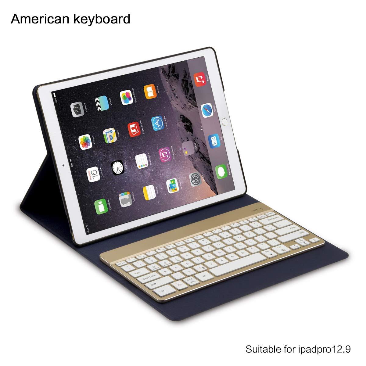 早い者勝ち AICEDA iPad RV49-1K-791 Pro B07L1RTTG4 12.9ケース 超薄型 落下防止グリップ プレミアム素材 フルプロテクション AICEDA スリムプレミアムカバー iPad Pro 12.9インチ専用デザイン ゴールド, RV49-1K-791 ダークブルー B07L1RTTG4, 明宝ハム楽天市場shop:b3f19024 --- a0267596.xsph.ru