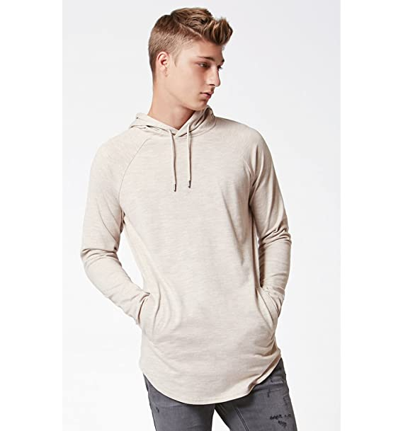 2f211fcd5ee6b7 Pacsun Mens Emancipation Hooded Long Sleeve Scallop T-Shirt  Amazon.ca   Clothing   Accessories