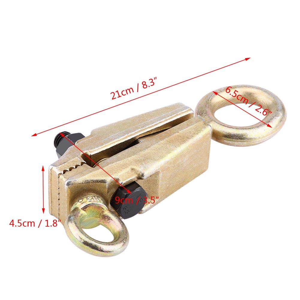 Traction Droite Pince de Traction Bidirectionnelle Collier Auto-serrant R/éparation de Carrosserie 5 Tonnes et 3 Tonnes Mod/èle 2 Traction Sup/érieure