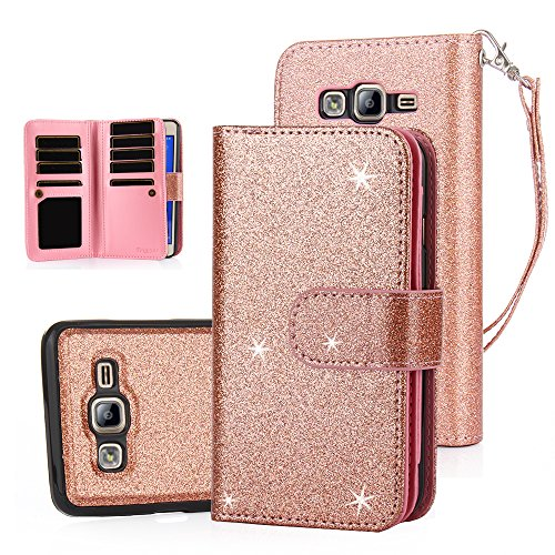Cheap Wallet Cases TabPow Galaxy On5 Case, 10 Card Slot - [ID Slot] Wallet Folio..