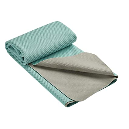 Amazon.com: YQSMYSW Towel Sweat More Slippery Yoga mat ...