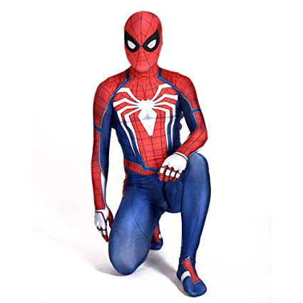 POIUYT Niño Adulto Hombre Cosplay Iron Spider-Man Halloween ...