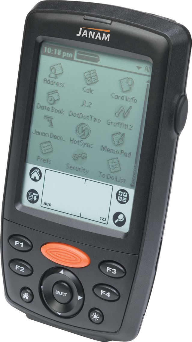 Janam XP20N-0PMLYC00 Series XP20 Handheld Computing Devices, Rugged PDA, Batch, Palm OS 5.4.9, 32 MB/64 MB, Mono Display, PDA Keypad, No Scanner by JANAM