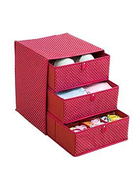 ZiXingA Caja de Almacenamiento para Ropa Interior, Sujetador de Escritorio, Ropa Interior, Calcetines