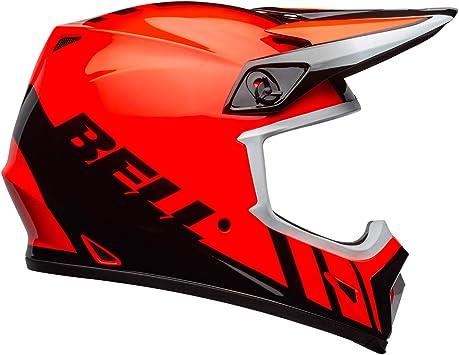 Bell MX-9 MIPS Off-Road Motorcycle Helmet Dash Gloss Orange//Black, Large