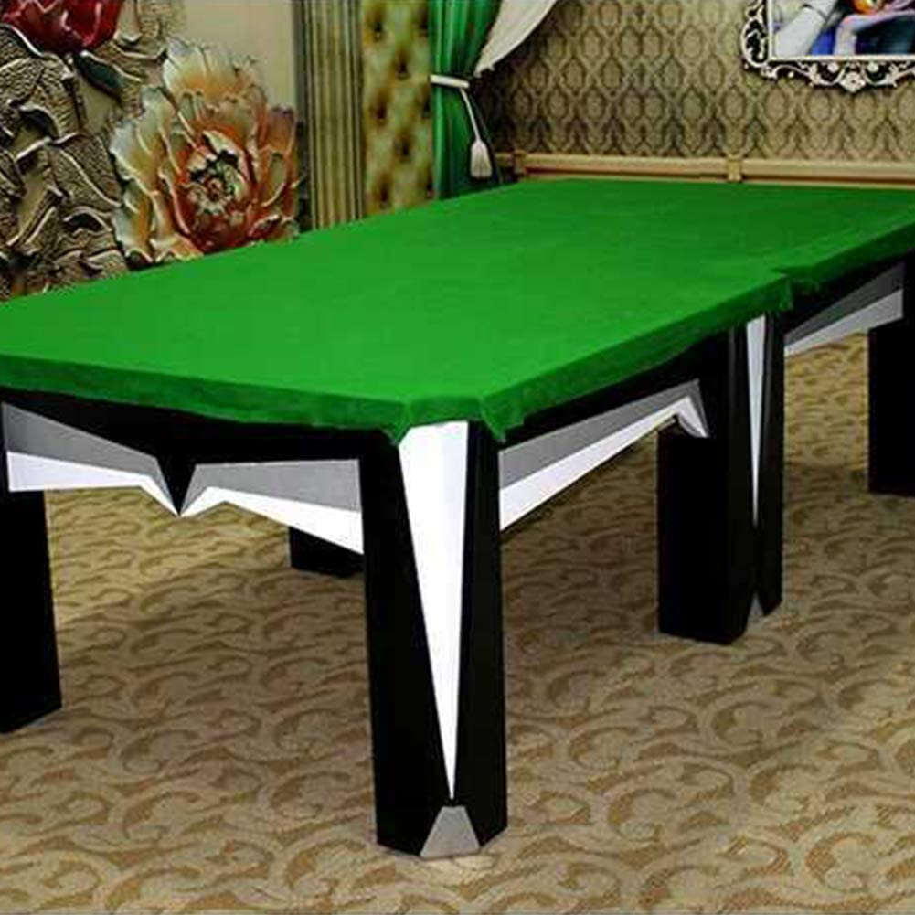 GCDN Mesa de Billar Paño 11.15ftX4.7ft Billar Piscina Bola Ocho Mesa Paño Fieltro para Snooker Billar Billar Mesa - Verde, 340x145cm: Amazon.es: Hogar