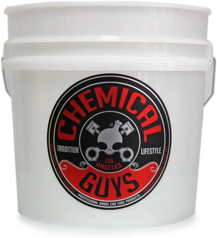 Chemical Guys Acc_103 Heavy Duty Detailing Bucket Logo (4.5 Gal)