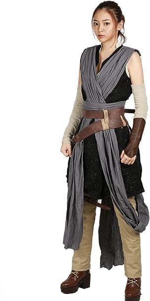 Rey Disfraz Star Wars 8 Luke Skywalker Traje Completo 9PZ Fresco ...